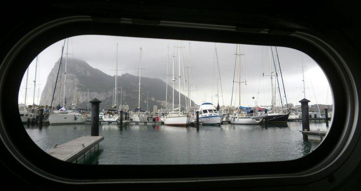 Peñon de Gibraltar 2011. Cruce Atlántico abordo del Catamarán de 58 pies, UNAMA