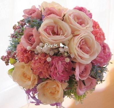 大人マカロンカラーのクラッチブーケ |Wedding Flower・ぽると のブログ