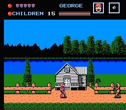 friday the 13th nes game over screen