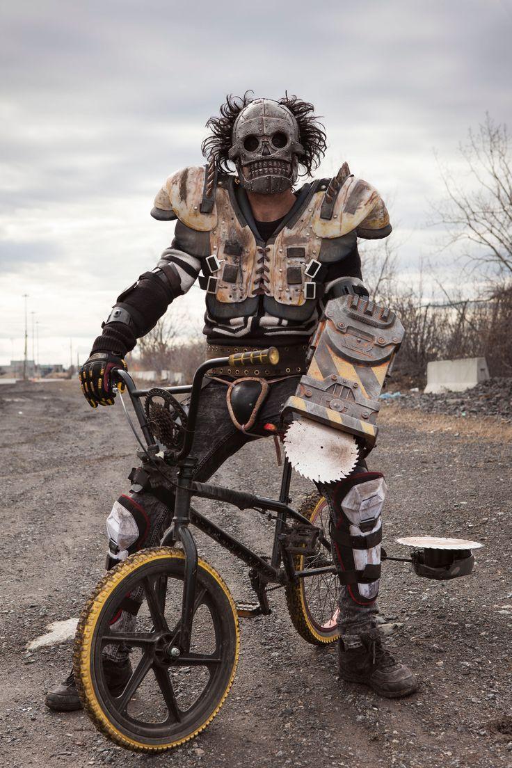 "The post-apocalyptic future of 1997.... ""Turbo Kid"" premiered Sundance Film Festival"