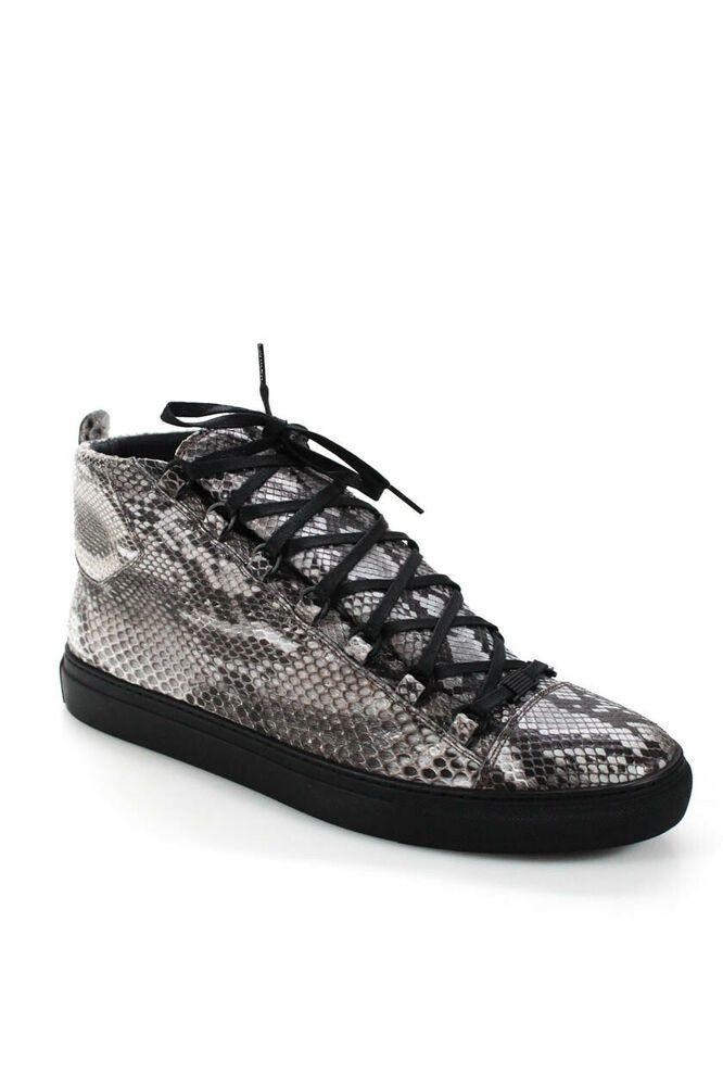 0c72587dfd6 eBay #Sponsored Balenciaga America Mens Python Skin High Top Punk ...