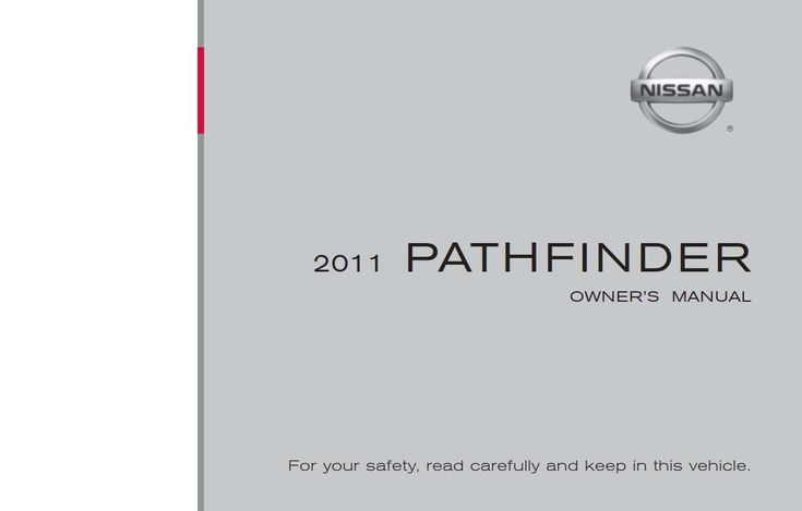 Nissan Pathfinder 2011 Owner U0026 39 S Manual