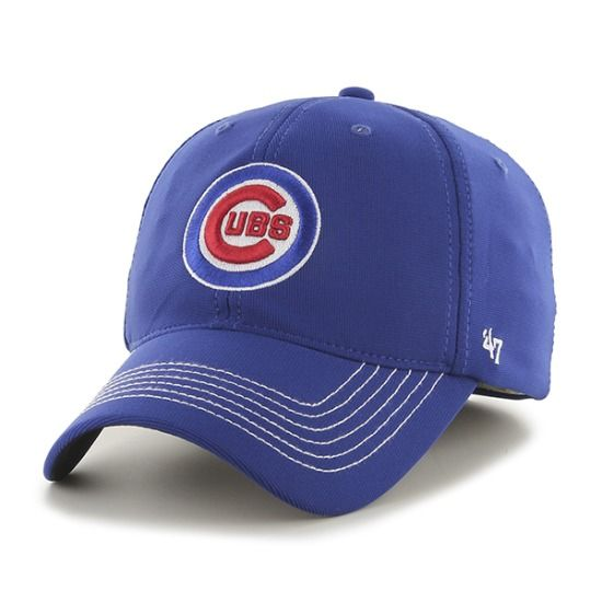 Chicago Cubs Game Time Closer One Size Stretch Fit Cap by '47 Brand | SportsWorldChicago.com  #ChicagoCubs @cubsbaseball