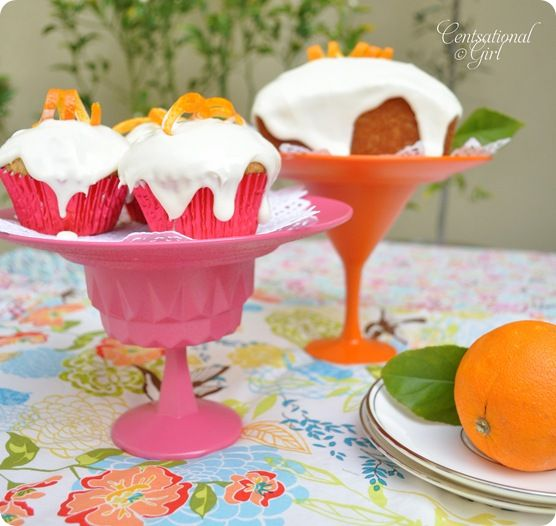DIY Cake Stands. So cute! Great for a kids' party, garden party or tea party.