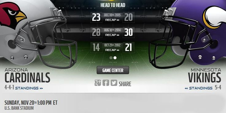 Cardinals vs Vikings live stream    more :: http://vikingsvscardinals.us/