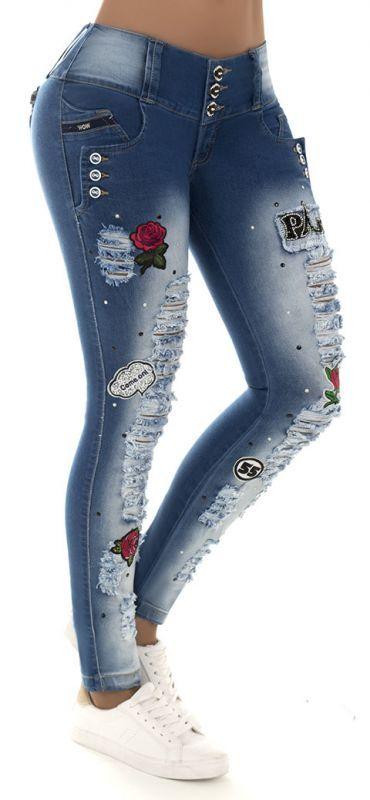 Jeans levanta cola WOW 86140