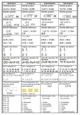 Answers to my homework