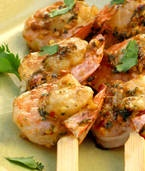 Grilled Tom Yum Shrimp. Super delicious! You can use the marinade on ...