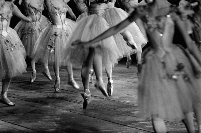 Jeanloup Sieff  Ballet, Paris Opera, 1960  1960  © The Estate of Jeanloup Sieff, Paris