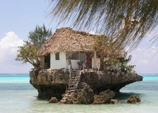 Island Life: Dreams Home, Dreams Houses, Islands Life, The Rocks, Zanzibar Tanzania, Rocks Restaurant, Beachhous, Beaches Houses, Dreamhous