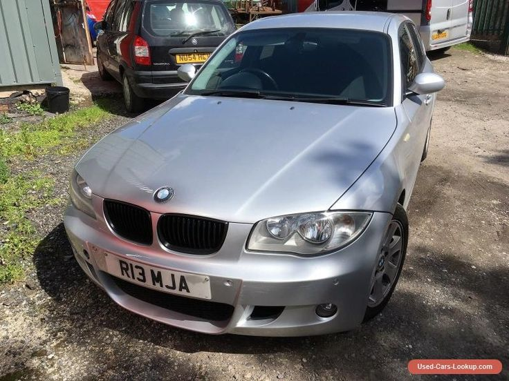 BMW 1 SERIES 120D SE 2005 DIESEL 5 DOOR PRIVATE PLATE 6 SPEED #bmw #1series #forsale #unitedkingdom