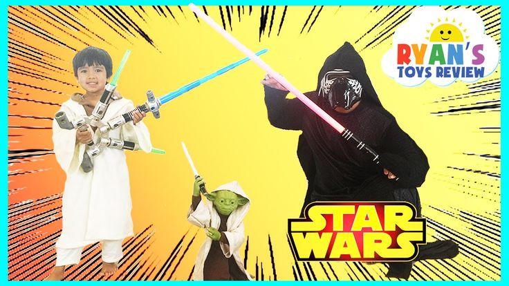 nice Disney Star Wars Toys Talking Yoda Jedi Force Levitator BLADEBUILDERS JEDI MASTER LIGHTSABER