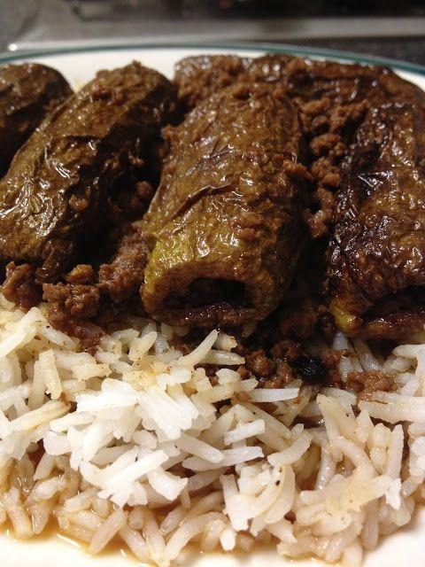 nosaibasfood :): Ablama (stuffed white courgettes)