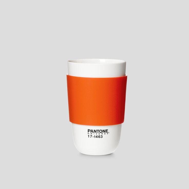 PANTONE Universe, Cup Classic, Tangerine Tango Orange, Design by Room Copenhagen