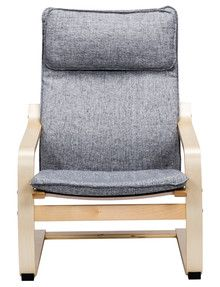Haven Ludo Chair, Grey product photo