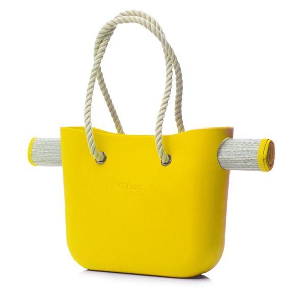 Beach O Bag-Yellow   Krinkle