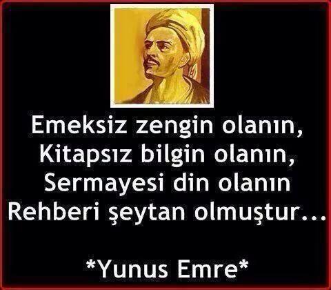 Söz Yunus Emre'de!