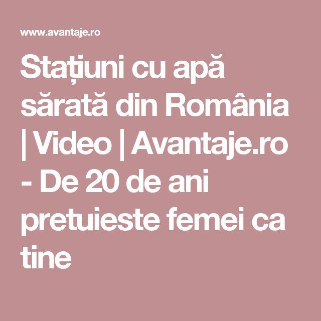 Stațiuni cu apă sărată din România | Video | Avantaje.ro - De 20 de ani pretuieste femei ca tine