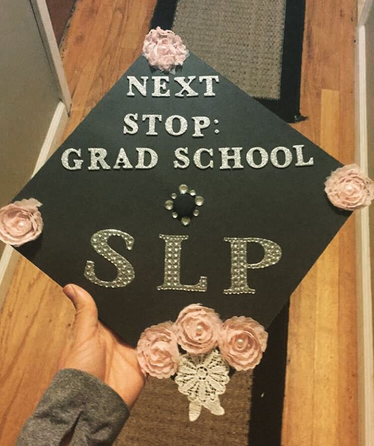 Speech Pathology graduation cap