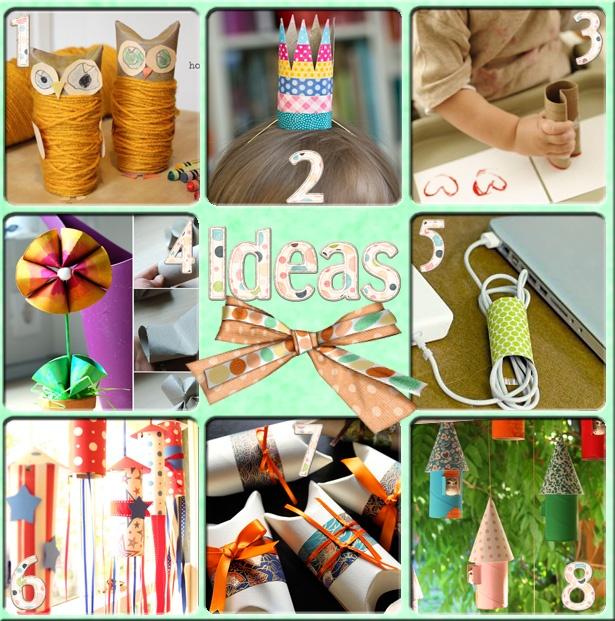 Meine Welt kennt Orange: 8 Ideen mit … Pappröhrchen   – Paula & Martí