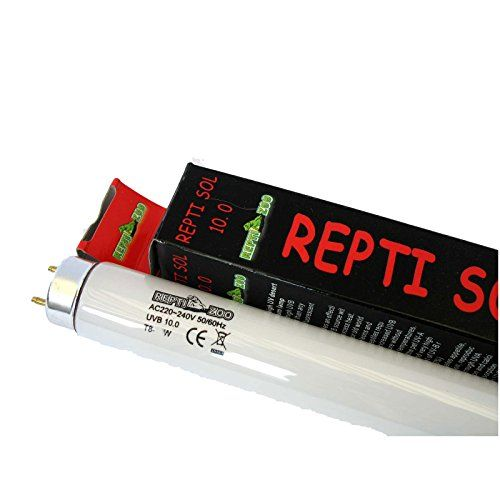 New Reptile Vivarium Fluorescent Tube Light T UV UVA UVB W