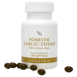 Forever Garlic Thyme helps prevent heart disease