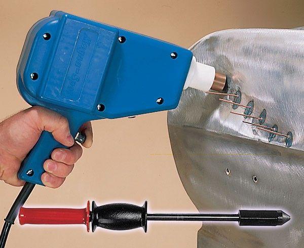 Stud Welder Dent Pulling System