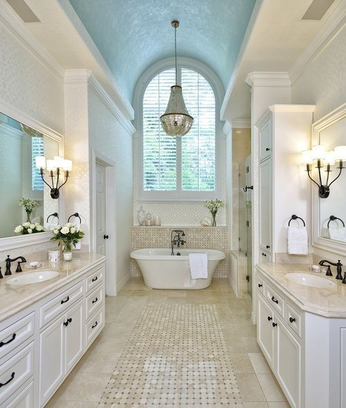 Master Bathroom Design Ideas to Inspire - http://homechanneltv.blogspot.com
