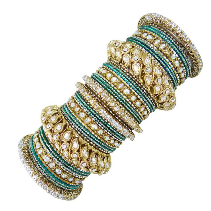 Indian Traditional For Women Wedding Bangles Choorian Set Ethnic Jewelry SZ 2*4 #iba