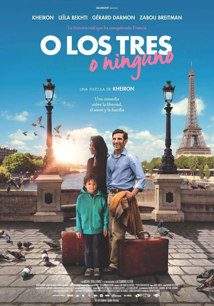 O los tres o ninguno (2015) Francia. Dir: Kheiron. Drama. Comedia. Migración. Baseado en feitos reais. Anos 80 - DVD CINE 2470