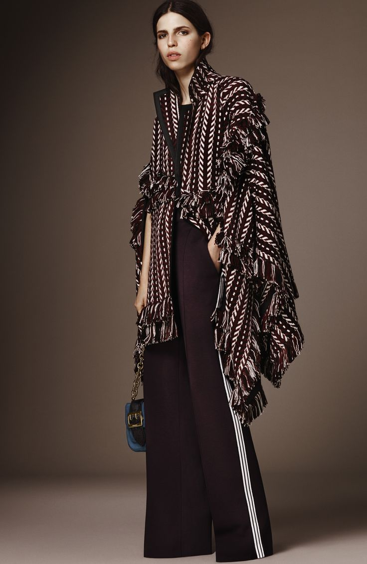 Burberry's Pre-Fall 2016 collection is here!