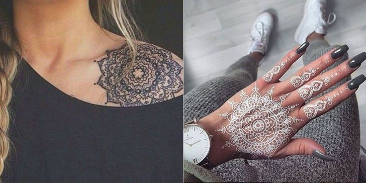 18 Insanely Gorgeous Henna Tattoos You'll Be Dying to Get  - Cosmopolitan.com