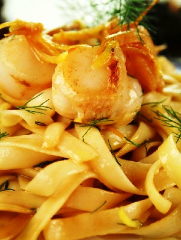 Seafood diablo pasta recipe