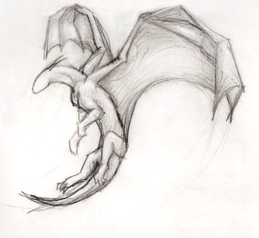 dragon simple drawing cool drawings dragons sketches random tattoo sketch flying disegno easy animal disegni di drago base animals draw