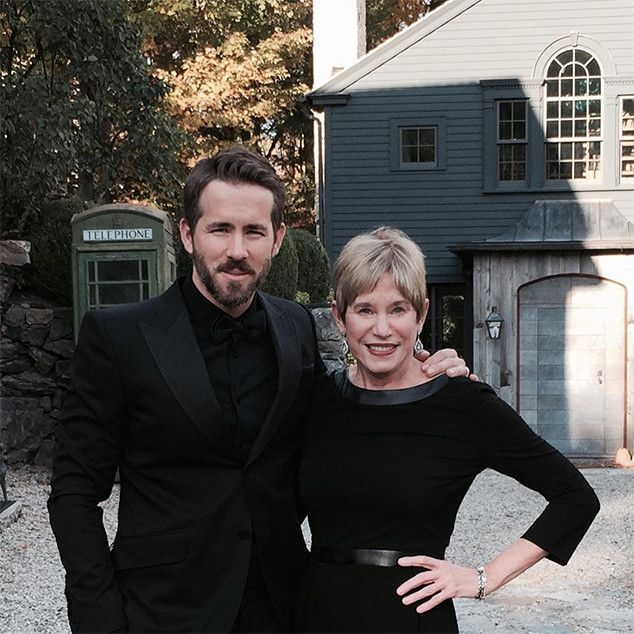 Ryan Reynolds & Mom Tammy Reynolds from Stars Celebrate Mother's Day 2016 | E! Online
