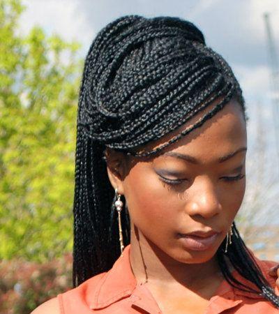 how to keep box braids neat