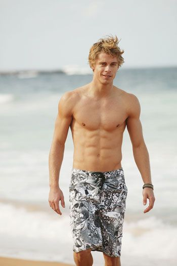 Luke Mitchell. That's a definite 8 pack.