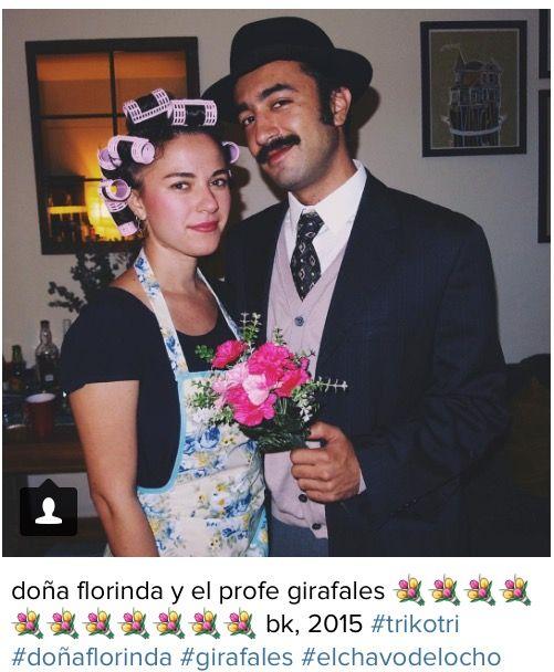 Doña Florinda y el Profesor Girafales costumes