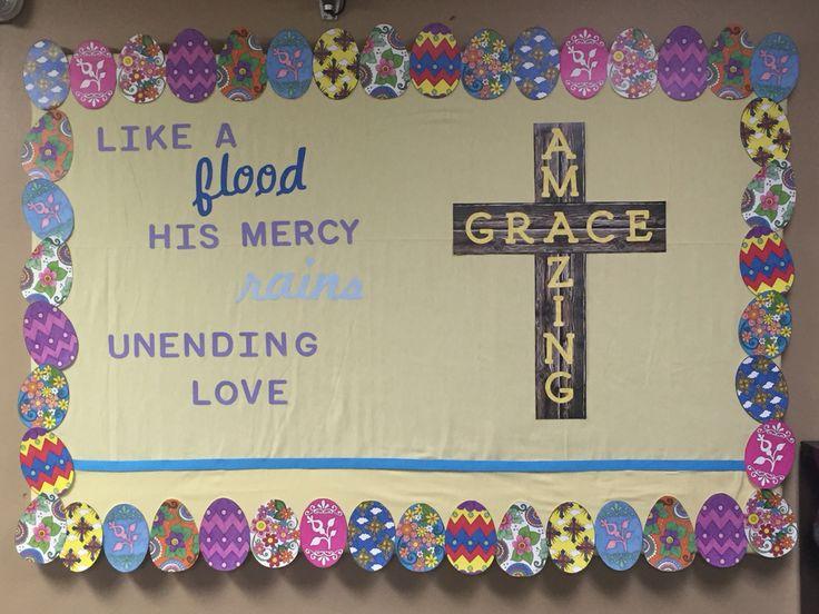 Easter Bulletin Board Amazing Grace GTL