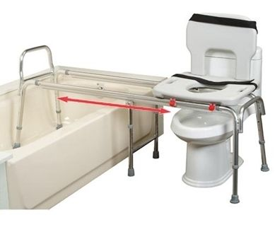 Toilet to Tub Sliding Transfer Bench - CareProdx