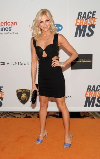 Debbie Gibson arrives at the Race to Erase MS Gala in Los Angeles on Friday, May…