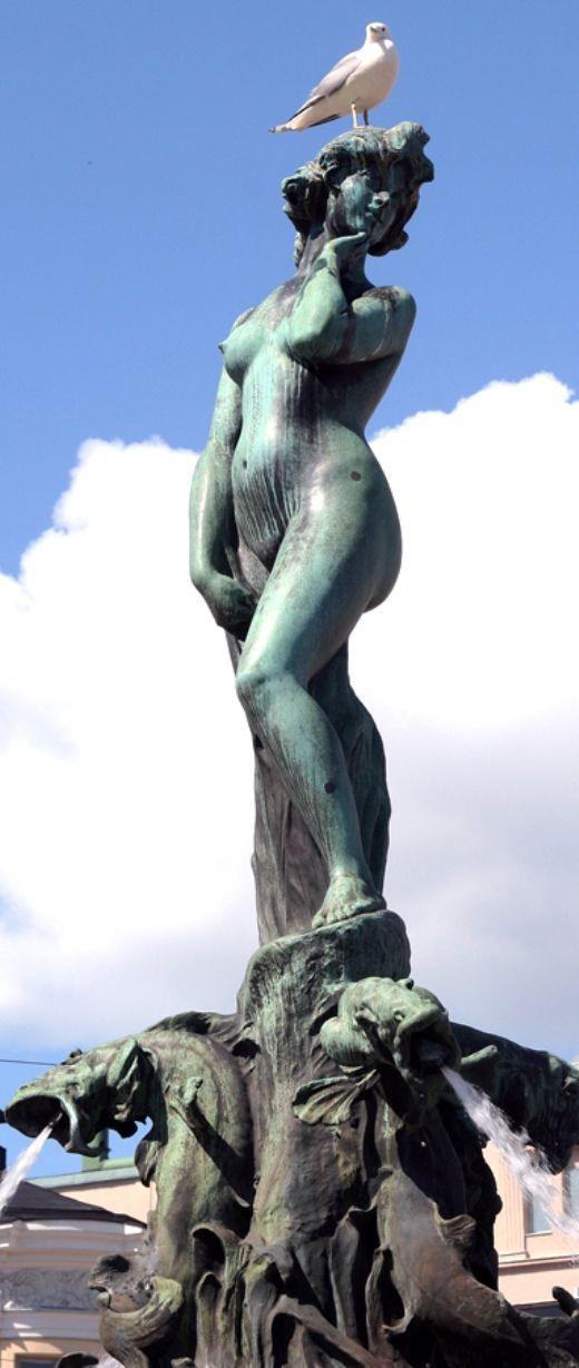 Havis Amanda. Helsinki , Finland