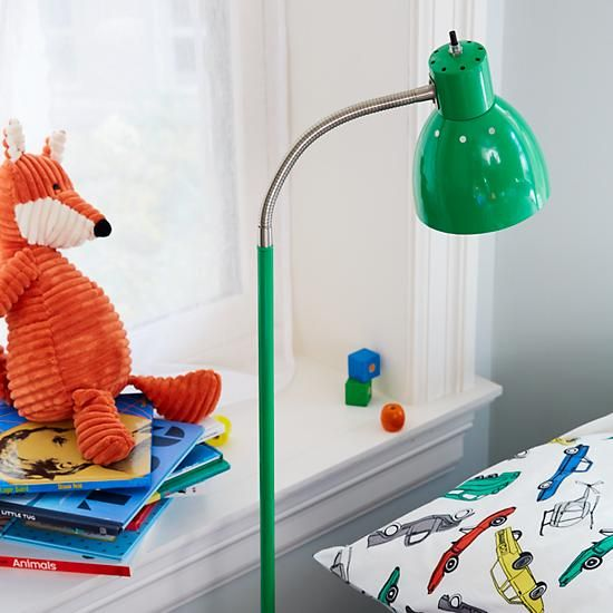 Bright Idea Green Floor Lamp    The Land of Nod