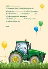 Die Besten 25 Einladung Kindergeburtstag Basteln Traktor Ideen