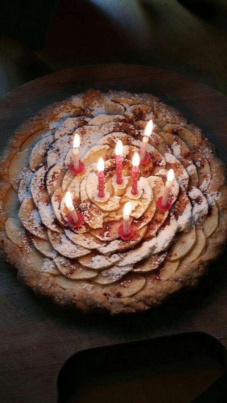 My wife'a birthday  cake2