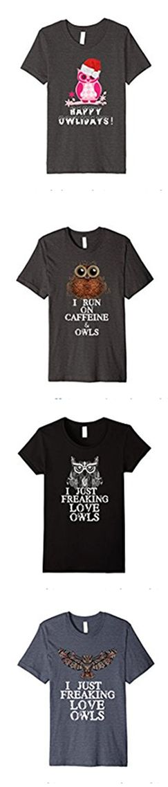 The cutest owl shirts on amazon! #owls From Happy Owlidays, coffee and owls, to I freaking Love Owls shirts we have them all. For under $20 or under $15! Free Shipping with prime.  Unique Owl Christmas Gift, Owl birthday gift, or owl wedding gift for the owl lover in your life. Show off your love of owls with this funny owl shirt for women, men, and kids. Get a matching owl shirt for the whole family. Different owls on our brand page