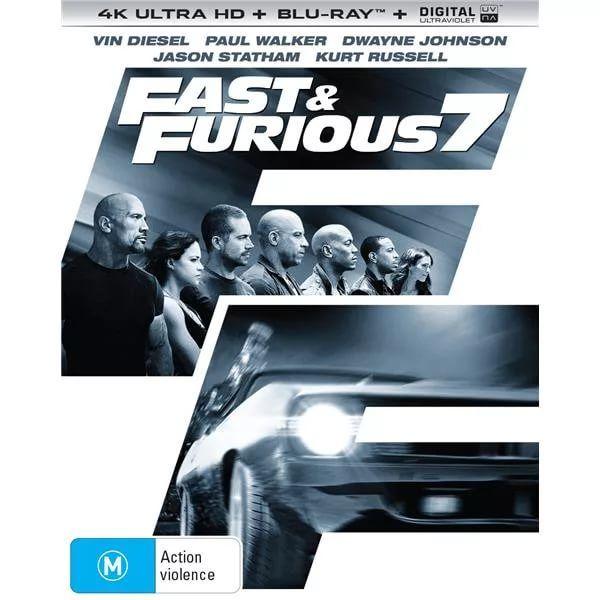 Furious Seven (2015) 4K UHD BluRay REMUX | Filme de acțiune