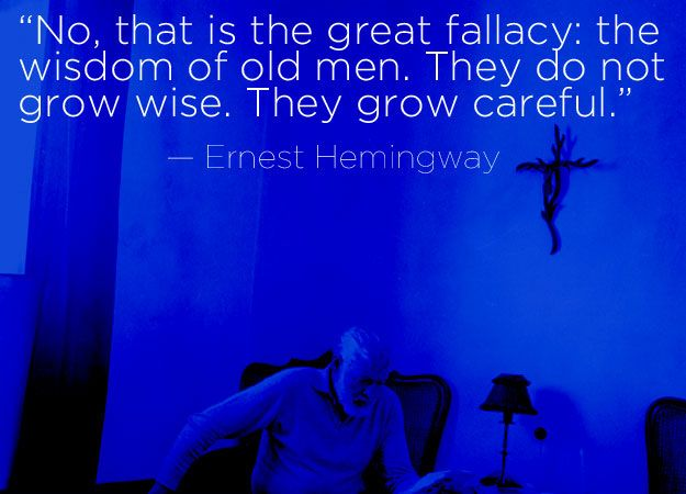 Ernest Hemingway | 16 Profound Literary Quotes About Getting Older