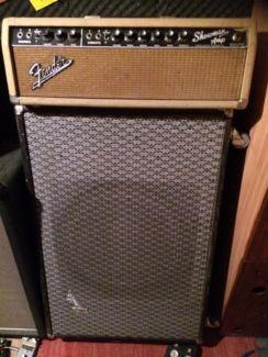 Fender Showman Vintage-Amp mit Box in Bayern - Attenhofen | Musikinstrumente und Zubehör gebraucht kaufen | eBay Kleinanzeigen