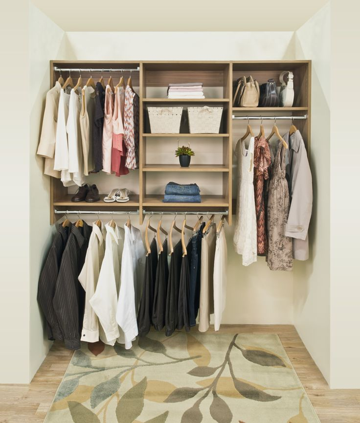 Classica Is Perfect For Custom Reach In Closets
